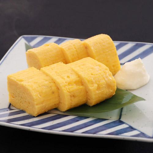 Japanese style egg omlette